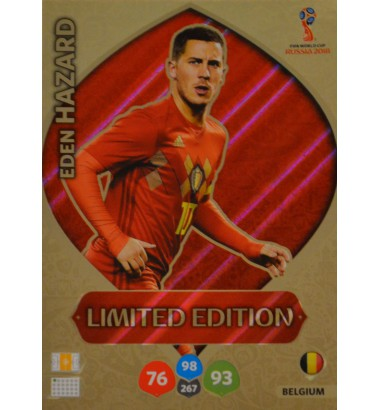 WORLD CUP 2018 RUSSIA Limited Edition Eden Hazard (Belgium)