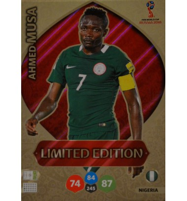 WORLD CUP 2018 RUSSIA Limited Edition Ahmed Musa (Nigeria)