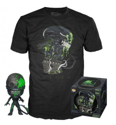 Alien POP! & Tee Box 40th Anniversary Xenomorph Exclusive