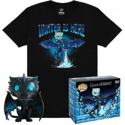 Game of Thrones POP! & Tee Box Icy Viserion E..