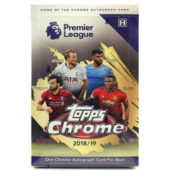 TOPPS CHROME PREMIER LEAGUE 2018-2019 SOCCER HOBB..