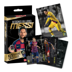 TOPPS Lionel Messi Designed Set (50 kaarti)