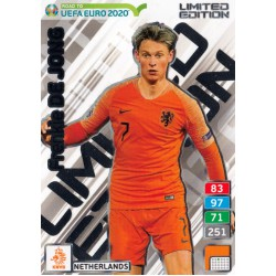 ROAD TO EURO 2020 Limited Edition Frenkie de Jong..