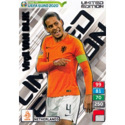ROAD TO EURO 2020 Limited Edition Virgil van Dijk..