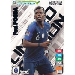 "Panini Adrenalyn XL Road to UEFA Euro 2016 /""Limited Edition Paul Pogba/"""