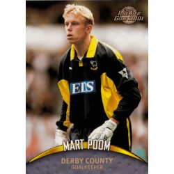 Topps Premier Gold 2001 Mart Poom (Derby County)