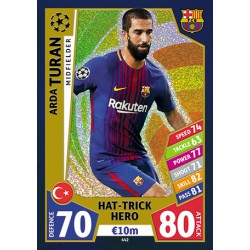 TOPPS MATCH ATTAX UEFA CHAMPIONS LEAGUE 2017-2018..