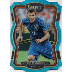 PANINI SELECT 2017-2018 Mezzanine Light Blue Die-..