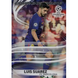 TOPPS CHROME 2017-2018 UEFA CHAMPIONS LEAGUE LIGH..