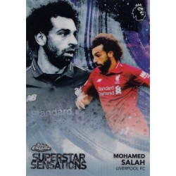 TOPPS CHROME 2018-2019 PREMIER LEAGUE SUPERSTAR S..