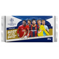 TOPPS Champions League Best of the Best 2021 kaar..