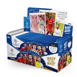 TOPPS Champions League Best of the Best 2021 BOX ..