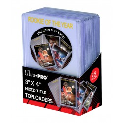 "ULTRA PRO 3"" X 4"" MIXED TITLE Toploader.."